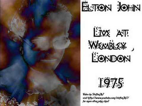 Elton John We All Fall In Love Sometimes 1975 Live