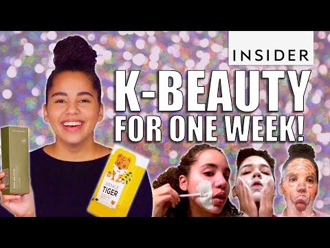 I Swapped All My Skincare For Korean Beauty Products