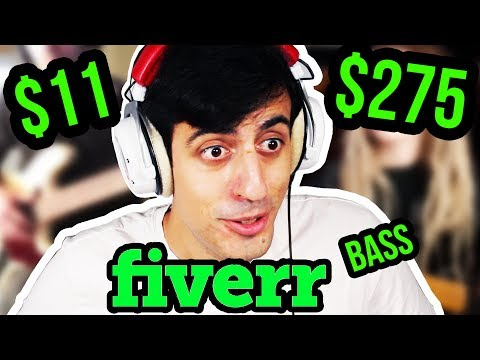I Paid Bassists on FIVERR to Create an EPIC Bassline...