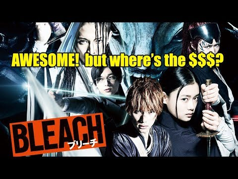 BLEACH live action movie discussion.  Flop?