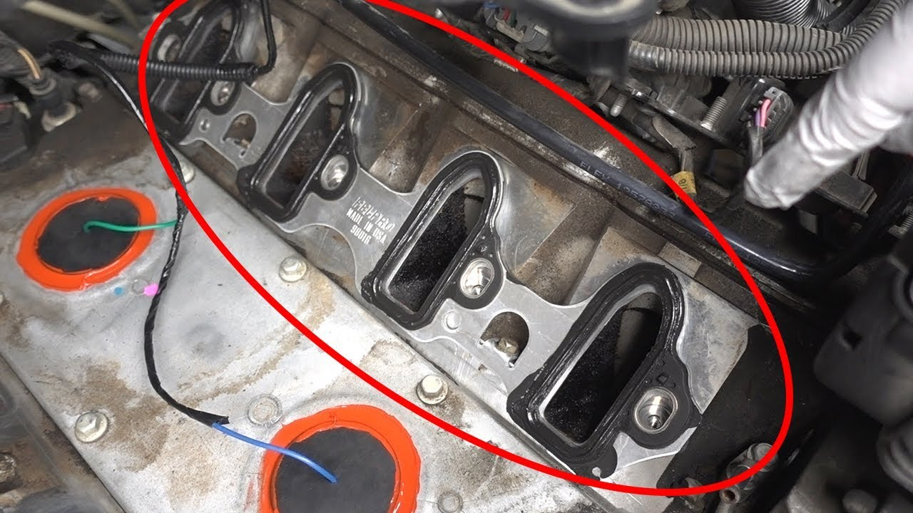 1996chevyblazerenginediagram Intake Manifold Gasket In