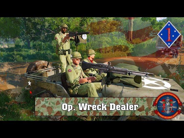 ARMA 3 | Op. Wreck Dealer VIETNAM | 11ThMEU (SOC) | Español