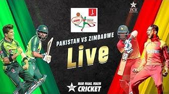 LIVE - Pakistan vs Zimbabwe | 3rd T20I 2020 | PCB