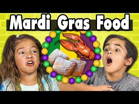 Kids Vs. Food   MARDI GRAS FOOD