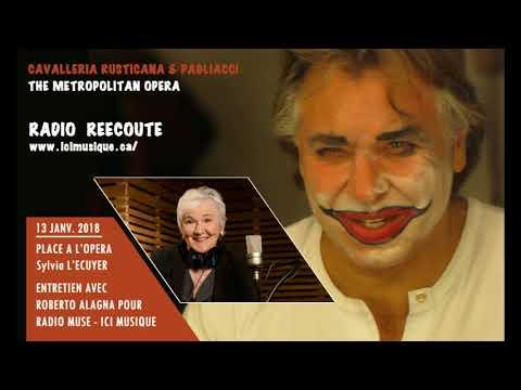 Roberto Alagna | RADIO Interview CAVALLERIA RUSTICANA & PAGLIACCI - ICI Musique