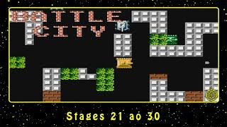 Battle City (NES) Stages 21 ao 30