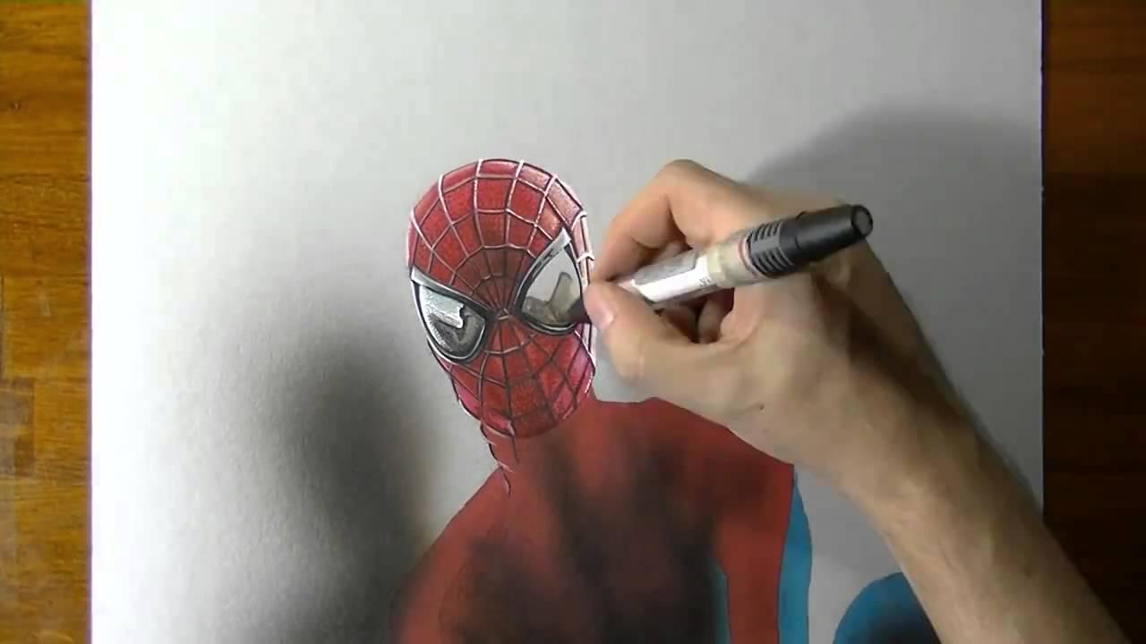Mükemmel Spider Manörümcek Adam çizimi Youtube