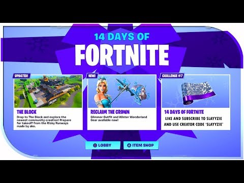New Day 7 Reward Of 14 Days Of Fortnite New Merry Munchkin Day 7
