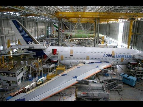Как собирают самолеты полная сборка большого самолета видео
