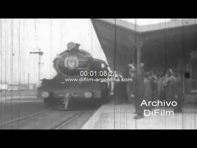 Imponen nombre Maquinista Savio a una estacion del Ferrocarril Mitre 1965