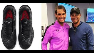 Rafa Nadal and Tiger Woods Collaborate for EPIC Limited Edition Nike Shoe