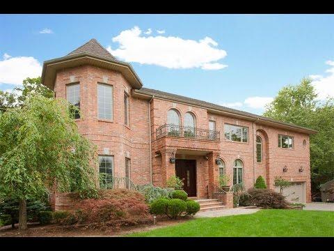 Custom Colonial Home In Harrington Park New Jersey Youtube