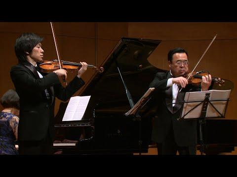 澤和樹 & 三上亮 演奏会 ショスタコーヴィチ:2つのヴァイオリンとピアノのための5つの小品