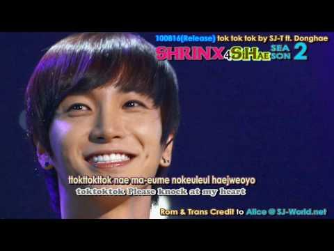 Super Junior T ~ Tok tok tok Lyrics ROM + ENG