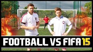 FOOTBALL VS FIFA WITH MY BRO!
