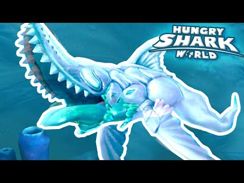 NEW GHOST SHARK BABY!!! - Hungry Shark World | Ep 45 HD
