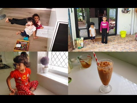 relaxing-day-with-a-little-gardening---cold-coffee-recipe---yummy-tummy-vlog