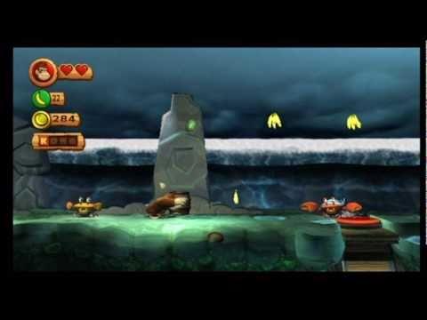 Donkey Kong Country Returns 2 7 Tidal Terror Youtube