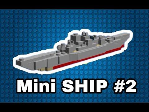 Как сделать мини корабль из Lego [Версия #2]  How To Make A Small Ship From Lego [Version #2]