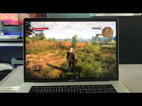 """Gaming On The New MacBook Pro 15"""" 2017"""
