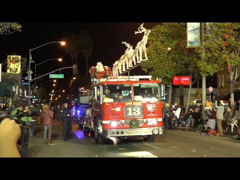 33rd Belmont Shore Christmas Parade 2015