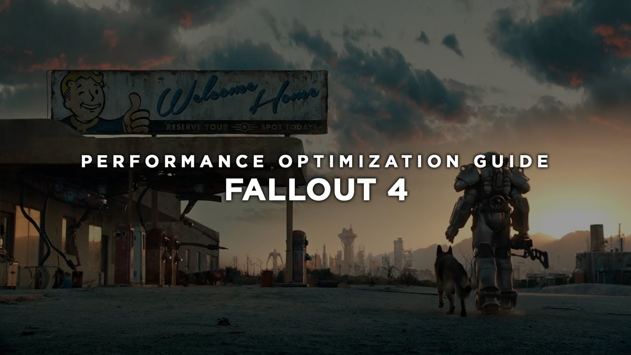 Fallout 4 - How to Improve Performance and Reduce/Fix Lag on Low Specs  Hardware