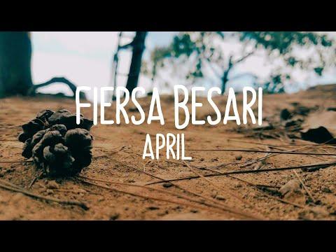 Fiersa Besari - April Video With Lyric (by : @maulanaaja23 Song by : @FiersaBesari)