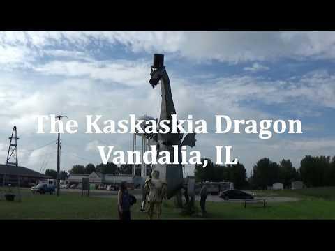 FIRE-BREATHING DRAGON!!! Kaskaskia Dragon