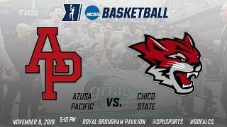 Men's Basketball: Azusa Pacific vs. Chico State - November 9, 2019 @ 5:15pm