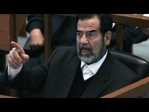 video saddam hussein impiccagione
