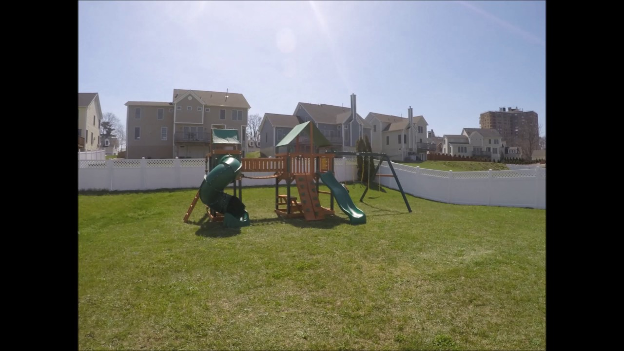 Savannah Ii Swing Set From Bj S Made By Gorilla Playsets Youtube