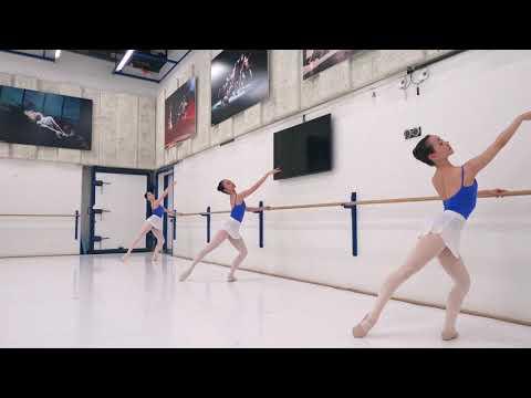 Ballet class TKIV & V filmed March 2021
