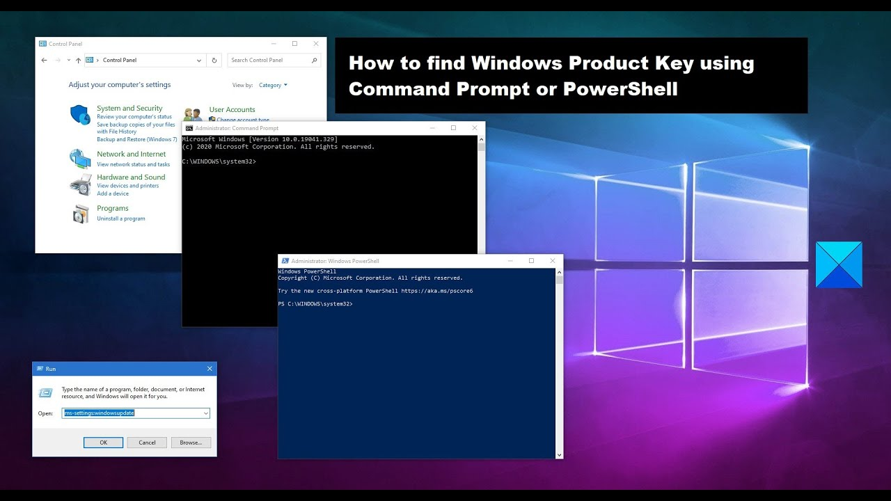 How to find Windows Product Key using Command Prompt or ...