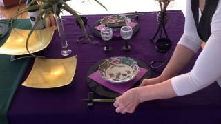 第6回 稲見和子テーブルコーディネート講座 テーブルコーディネート 検索動画 17