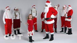 Kids Guess Who's the Real Santa | Lineup | Cut