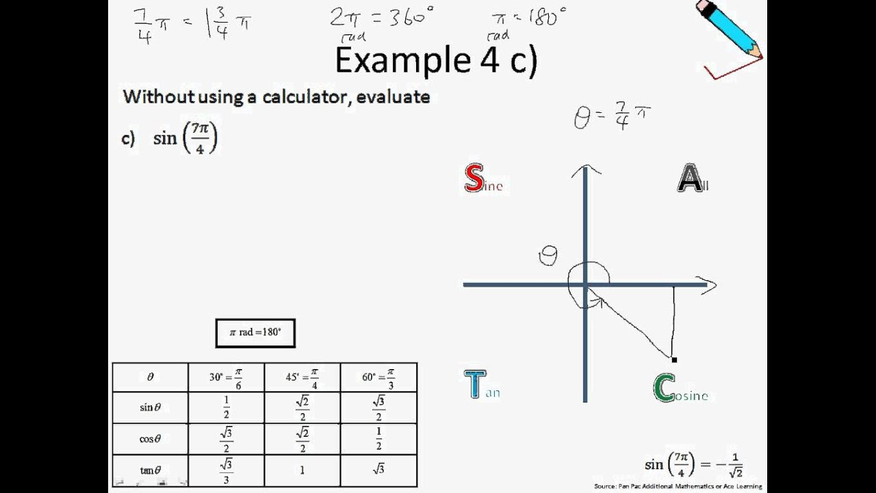 how to find value of trigonometric angles