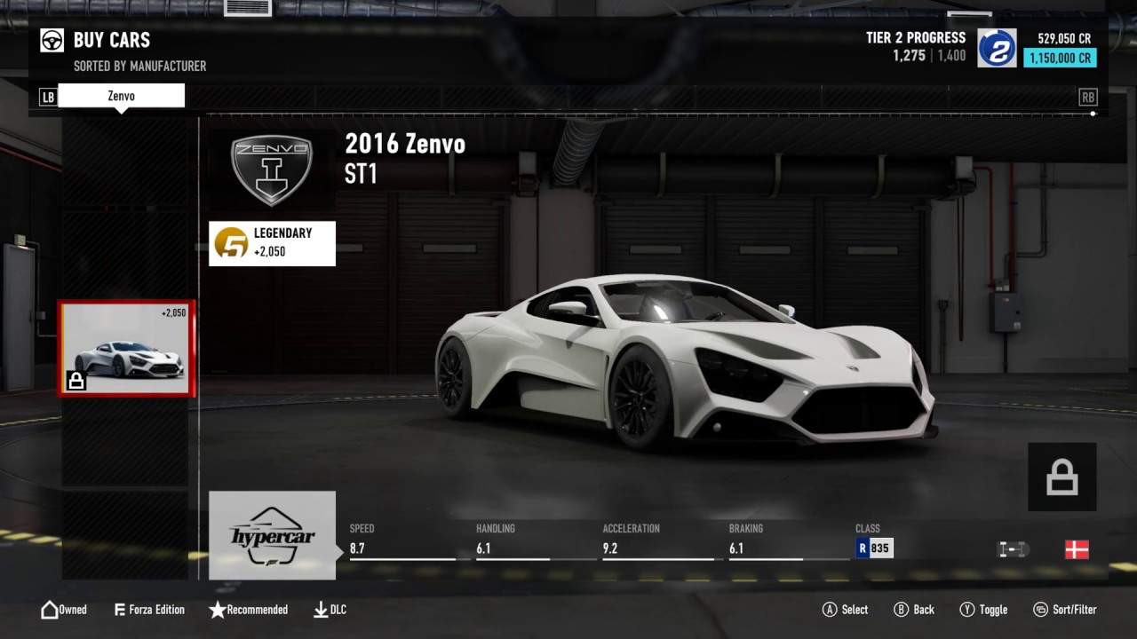 forza motorsport 7 full car list all cars showcase. Black Bedroom Furniture Sets. Home Design Ideas