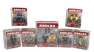 Roblox Series 2 Toys Prision Life, Phantom Forces, Meep City, Parkour + More Packs Unboxing Review