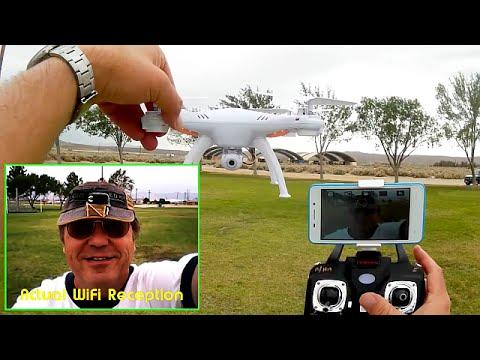 <b>Syma X5SW Drone</b>: FPV Comparison Series Review - YouTube