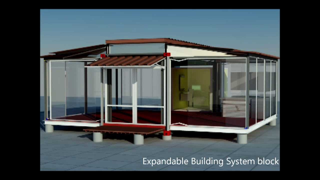 Container house mobile home home building ebs block for Ebs homes