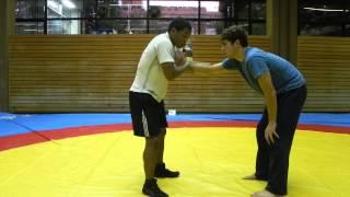 Lucha Olimpica. Defensa de Tackles