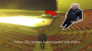 POLICE ESCAPE IN STADIUM! *WE GOT AWAY* thumbnail
