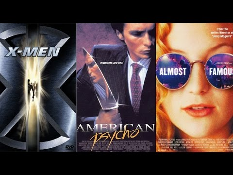 Top 10 Most Memorable Movies of 2000