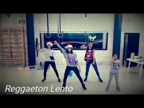 Reggaeton Lento (cnco) Zumba Choreography