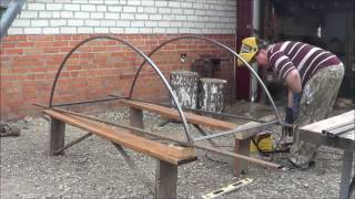 видео Как сделать козырек над крыльцом