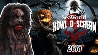 Howl-O-Scream 2018 (Night 2) Seaworld San Antonio