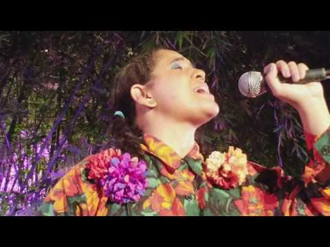 Lido Pimienta at the Hammer Museum for !Pa'rriba!. 9/22/17