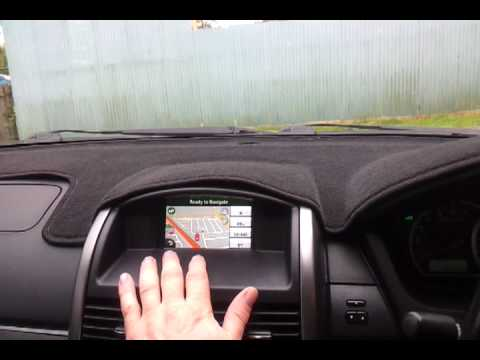 Garmin Voice command in a Mitsubishi 380