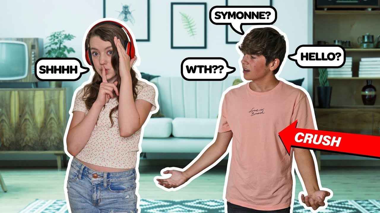 IGNORING My CRUSH For 24 HOURS To See How He Reacts **FUNNY PRANK**🙉😡 Symonne Harrison