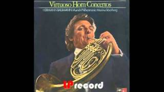 Gambar cover Hermann Baumann plays Julius Weismann Concertino Op.118 2nd tempo Arietta